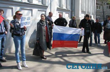 Харьков сегодня: домашний арест для сепаратистов и триколоры у консульства России