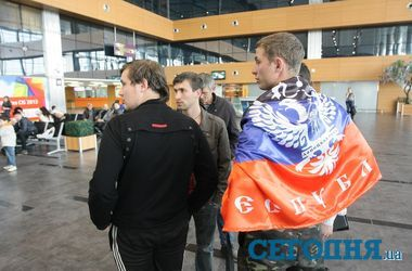 "Сепаратисты требуют ""комнату"" в Донецком аэропорту"