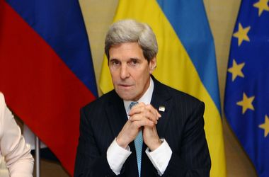 """Женевская """"четверка"""" подтвердила необходимость прекращения насилия в Украине – Керри"""