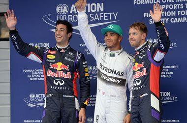 Хэмилтон выиграл квалификацию Гран-при Китая