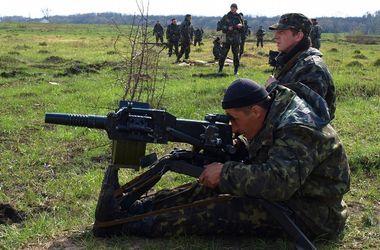 Противотанковые подразделения отрабатывают огневое взаимодействие с другими родами войск