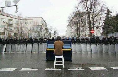 Арт-проект, посвященный украинской революции, стал сенсацией в Вене