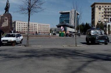 В Харькове начался митинг антимайдана