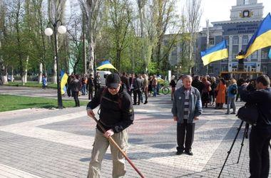 В Херсоне провалился митинг коммунистов