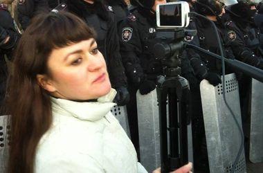 В Славянске  сепаратисты захватили активистку Евромайдана
