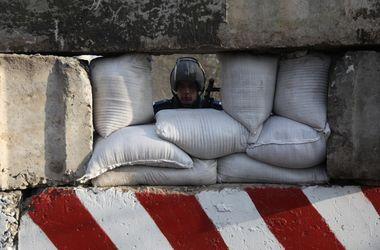 Украинские десантники отбили атаку на блокпост в Славянске