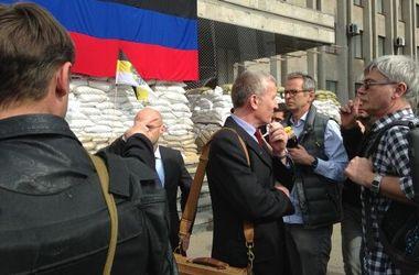 Миссии ОБСЕ удалось попасть в Славянск