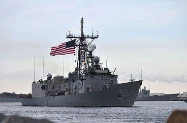 """Американский ракетный фрегат """"Тэйлор"""" вошел в Черное море"""