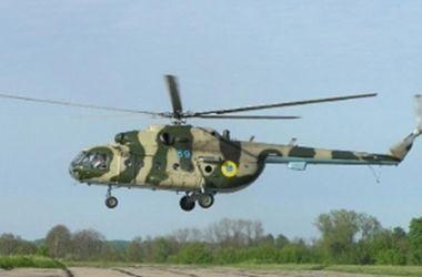 Обстрелянный в Краматорске вертолет принадлежит МВД