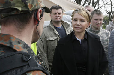 Тимошенко передала протокол захватчикам луганской СБУ и ждет ответа