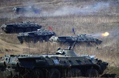 Российские войска начали учения на границе с Украиной