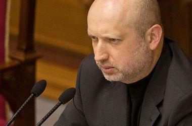 Турчинов  потребовал от РФ  прекратить шантаж и пообещал защитить народ