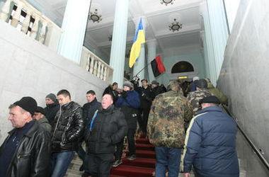 Здание киевской мэрии официально закрыли на ремонт