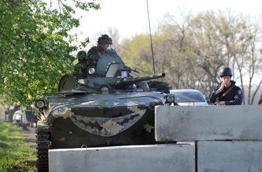 Силовики под Славянском уничтожили блокпост сепаратистов