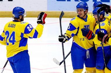 Украинские хоккеисты на чемпионате мира разгромили Корею