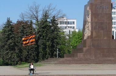 Как пророссийские активисты в Харькове митинговали