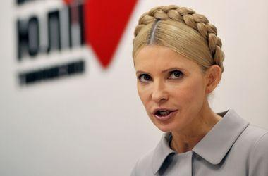 Тимошенко считает своевременным усиление санкций против России