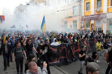 Милиция проводит проверку по факту столкновений в Харькове