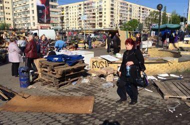 В Киеве снесли скандальный рынок перед ЦИК