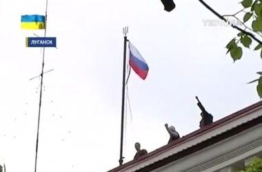 Луганскую обладминистрацию захватили сепаратисты. Есть пострадавшие
