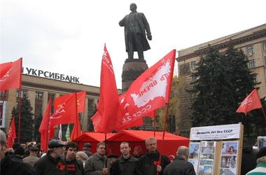 В Днепропетровске Союз советских офицеров собирает 3-тысячный митинг