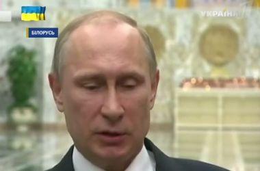 Путин опроверг свою причастность к террористам в Украине и не понял, к чему санкции