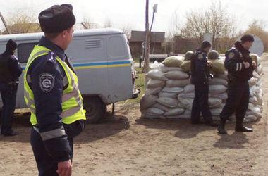 В Донецкой области ликвидирован еще один блокпост сепаратистов - МВД