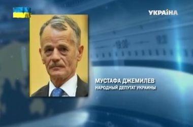 Лидера крымских татар Джемилева не пускают в Москву