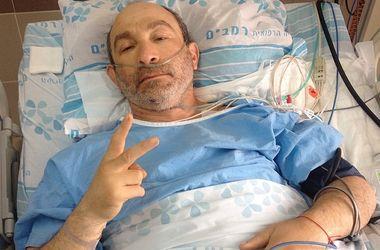 Кернес выложил в соцетях фото в Израильской больнице