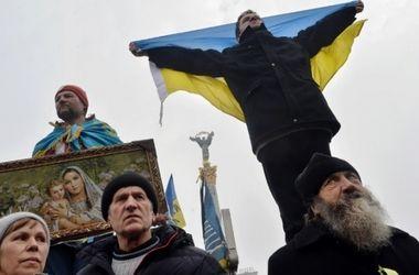 На Майдане в Киеве все спокойно: люди вняли призывам не участвовать в массовых акциях