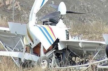В Запорожской области разбился самолет, погиб пилот