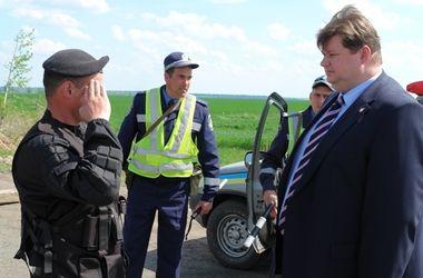 Ситуация на блокпостах в Харьковской области спокойная