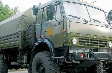 В Свердловске боевики захватили КАМАЗ и ЗИЛ