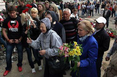Одесса прощается с жертвами беспорядков 2 мая