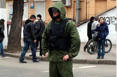 """В Одесской области люди подняли на уши спецназ из-за """"зеленых человечков"""""""