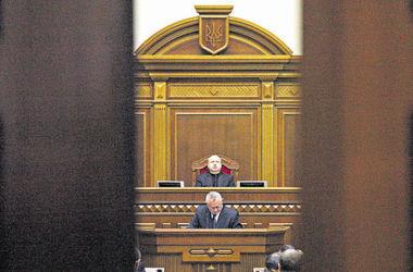 Рада в закрытом режиме заслушает отчет силовиков и решит судьбу всеукраинского опроса