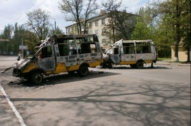 В Краматорске работают магазины и школы, но транспорт по-прежнему не ходит