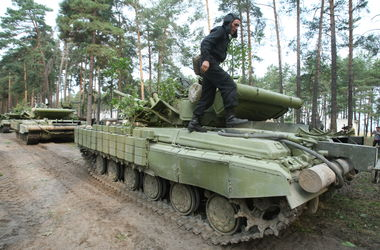 Киев обороняют 50 единиц военной техники, кадровые военные и резервисты