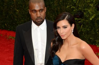 Ким Кардашьян опровергла слухи о тайной свадьбе с Канье Уэстом