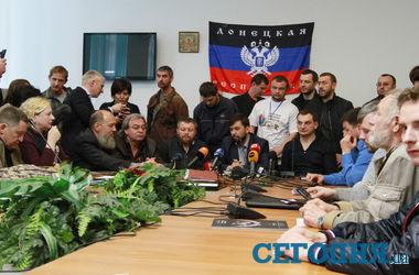 Донецкие сепаратисты благодарят Путина и обещают провести референдум на высшем уровне