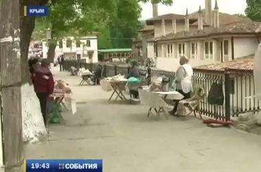 На Крымском полуострове отсутствует наплыв туристов