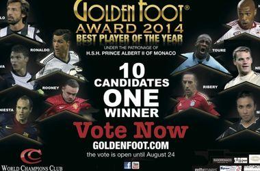 Роналду вошел в число претендентов на награду Golden Foot