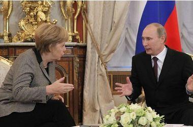 Меркель призывает Путина к дальнейшим шагам по деэскалации ситуации в Украине