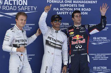 Квалификацию Гран-при Испании выиграл Льюис Хэмилтон
