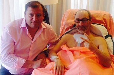 Кернес в больнице встретился с Добкиным
