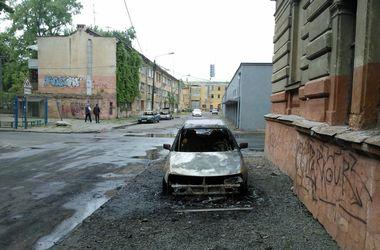 В Одессе сгорели три львовские машины