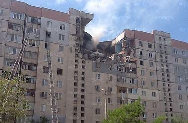 Взрыв жилого дома в Николаеве