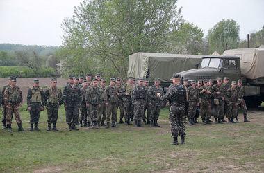 Львовский батальон территориальной обороны набрал первую сотню опытных бойцов