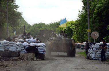 Под Краматорском террористы атаковали военнослужащих из подствольных гранатометов