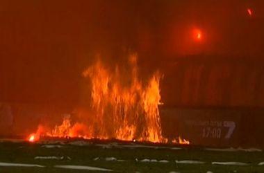 Финал Кубка Болгарии прерывался на 20 минут из-за пожара